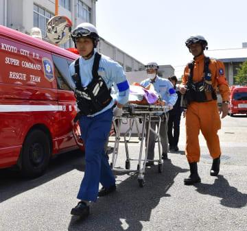熱中症の救急搬送=2018年、京都市