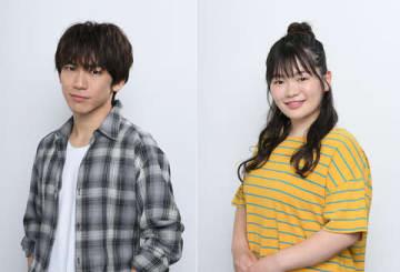「ブスの瞳に恋してる 2019」に出演するEXILE NAOTOさん(左)と富田望生さん =フジテレビ提供