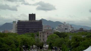広島、原爆投下から74年 平和記念式典開催