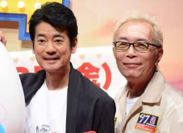 吹き替えを務める唐沢寿明と所ジョージ(写真は今年6月撮影)