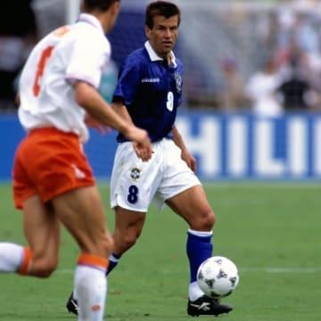 FIFAワールドカップアメリカ大会オランダ対ブラジル戦のドゥンガ選手