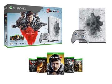 同梱版Xbox One X本体など『Gears 5』関連製品が発表! ゲームと同日発売へ
