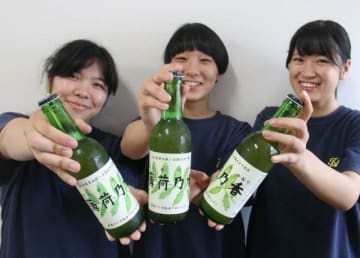高松農業高生が造ったハッカの地ビール「薄荷乃香」