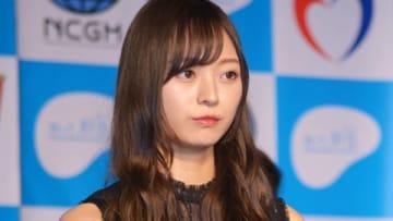 肝炎についての啓発イベント「知って、肝炎プロジェクトミーティング2019」に登場した「乃木坂46」の梅澤美波さん
