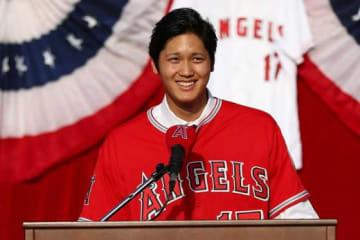 争奪戦の末、エンゼルスが大谷翔平を獲得した【写真:Getty Images】