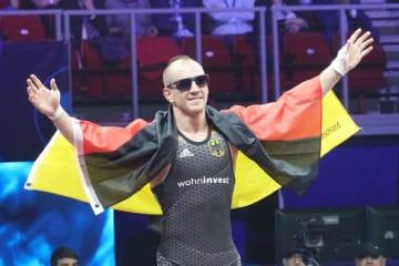 67kg級で東京オリンピックを目指すか、フランク・スタエブラー(ドイツ)=写真は昨年の世界選手権