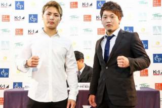 里見(左)vs横山(右)が決定(C)M-1 Sports Media