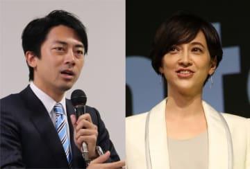 小泉進次郎議員(左)と滝川クリステルさん(右)の2人は発表翌日、代理人を通じて婚姻届けを提出した。