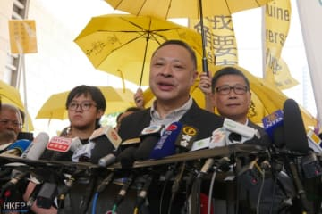 Benny Tai. Photo: Jennifer Creery/HKFP.