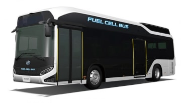 燃料電池バス「SORA」(画像: トヨタ自動車の発表資料より)