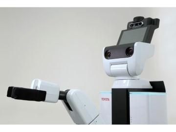トヨタの生活支援ロボットHuman Support Robot、これをプラットフォームにトヨタとPFNが協働で、完璧なロボット開発を目指す