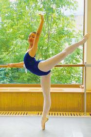 10月からロシアの名門校「モスクワ国立舞踊アカデミー」(通称・ボリショイバレエアカデミー)に研究生として入学が決まった新井さん