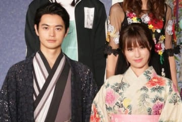 連続ドラマ「ルパンの娘」に出演している深田恭子さん(右)と瀬戸康史さん