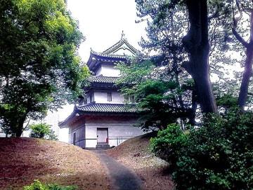 ▲江戸城富士見櫓(東京都千代田区)