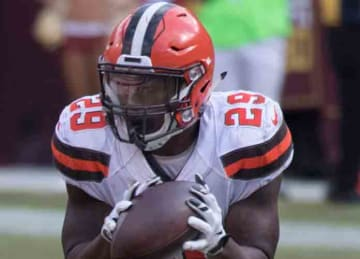 Cleveland Browns running back Duke Johnson