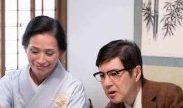 NHK連続テレビ小説「なつぞら」第114回に登場した藤田三保子さん(左)と関根勤さん (C)NHK