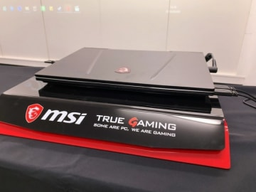 MSI最新ゲーミングノートPC発表会レポ―デスクトップ用Core i 9搭載ノートや、ディスカバリーチャンネルと共同製作のドキュメンタリーも