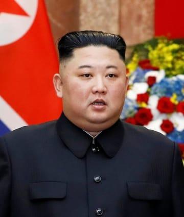 北朝鮮の金正恩朝鮮労働党委員長(ロイター=共同)