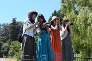 館林の魅力を見つけるカメラガールズの会員