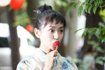 連続ドラマ「あなたの番です」で尾野幹葉を演じる奈緒さん=日本テレビ提供