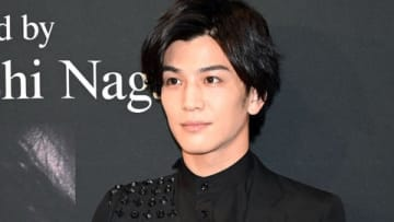 写真集「Spin」の発売記念イベントに登場した岩田剛典さん