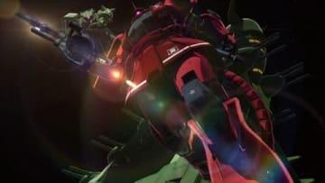 テレビアニメ「機動戦士ガンダム THE ORIGIN 前夜 赤い彗星」の第13話「一年戦争」の一場面(C)創通・サンライズ