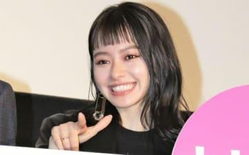 映画「東京喰種 トーキョーグール【S】」の舞台あいさつに登場した山本舞香さん