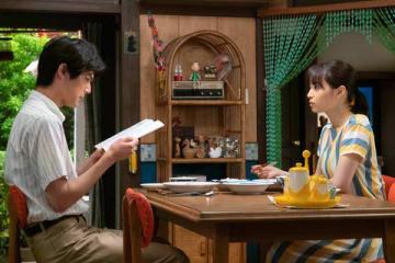NHK連続テレビ小説「なつぞら」第115回の一場面(C)NHK