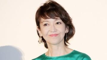 3DCG劇場版アニメ「ドラゴンクエスト ユア・ストーリー」の初日舞台あいさつに出席した賀来千香子さん