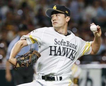 5回を1失点で3勝目を挙げたソフトバンク・和田=ヤフオクドーム