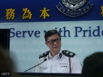 Deputy police commissioner Tang Ping-keung. Photo: Holmes Chan/HKFP.