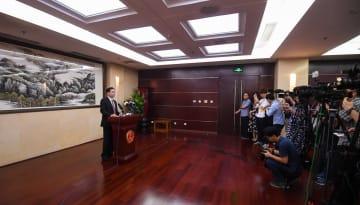 暴徒の火炎瓶使用を厳しく非難 国務院香港マカオ事務弁公室