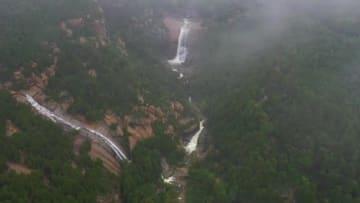 雨後の泰山に「雲竜三現」の絶景出現