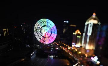 「夜間経済」で輝き増す長沙 煌めく不夜城の夜景を堪能