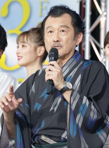 映画「劇場版おっさんずラブ ~LOVE or DEAD~」のイベントに登場した吉田鋼太郎さん