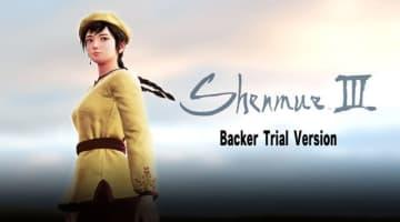 『シェンムー3』バッカー向けトライアルバージョンは9月後半に提供予定! 約1時間のプレイが可能