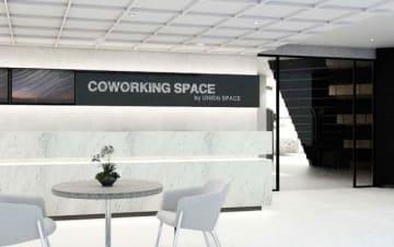 スカルノ・ハッタ空港第3ターミナルに開設したコワーキングスペース(ユニオンスペース提供)