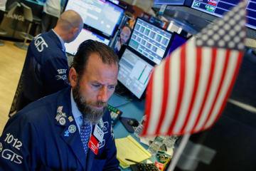 NY株反発、372ドル高