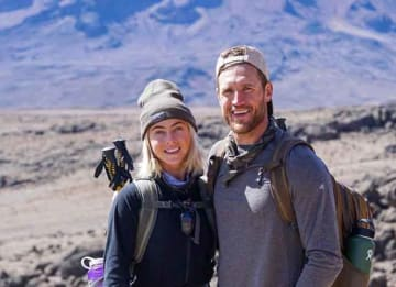 Julianne Hough & Husband Brooks Laich Hike To Top Of Mount Kilimanjaro