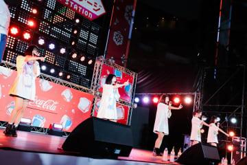 まねきケチャ[ライブレポート]ファンの声援に負けないパワー全開ステージング!|六本木アイドルフェスティバル2019