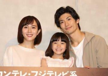 連続ドラマ「TWO WEEKS」で主演を務めている三浦春馬さん(一番右)