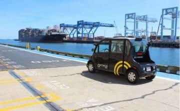 ブルックリンのネイビーヤードで走行する自動運転車 (Photo Optimus Ride )