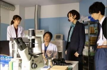 連続ドラマ「サイン―法医学者 柚木貴志の事件―」第5話の場面写真=テレビ朝日提供
