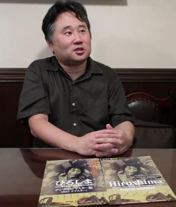 「戦争を二度と繰り返さないため、核の恐ろしさを学び続けなければいけない」と語る開さん =東京都八王子市