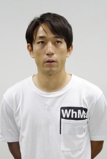 ベルギー1部リーグ、アントワープ移籍に向け意欲を語るサッカー日本代表の三好康児=15日、横浜市内