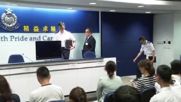 香港警察、違法集会の疑いで5人逮捕