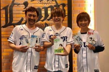 始球式を務めたら高木さん、内田さん、日高さん(左から)【写真:安藤かなみ】