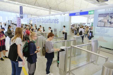 香港国際空港が通常運航に 香港空港管理局