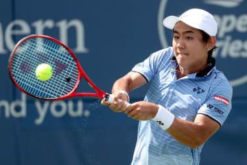 「ATP1000 シンシナティ」での西岡