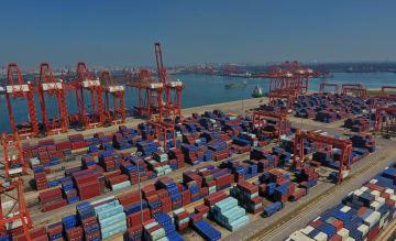 唐山港1~7月の貨物取扱量、3億6803万トン